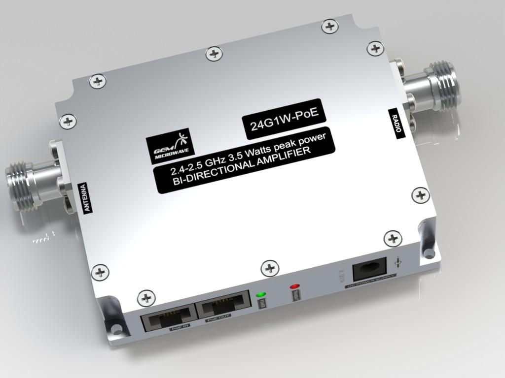 24G1W-PoE 2.4-2.5GHz  Bi-Directional Amplifier PoE