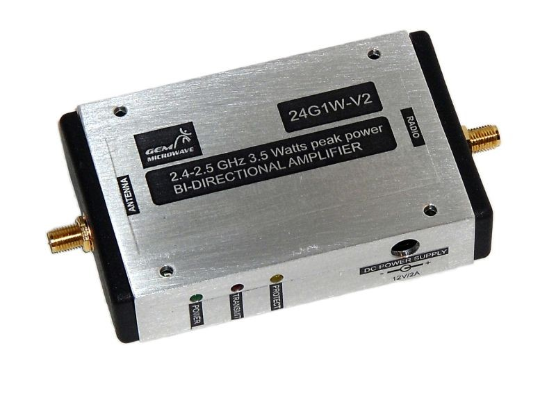 24G1W-V2 2.4-2.5GHz Automatic Gain Controlled Bi-Directional Amplifier