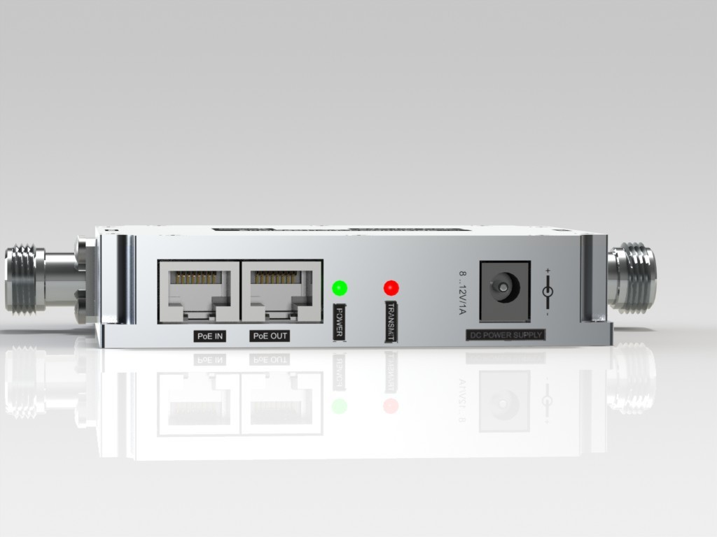 58G1W-PoE 5.15-5.85GHz  Bi-Directional Amplifier Power over Ethernet