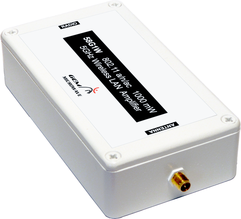 5.8GHz 1Watt Bi-Directional Amplifier